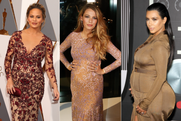 estilo de grávidas famosas