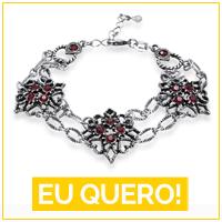 joias combinam com look vermelho