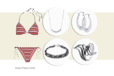 Como usar joias na praia