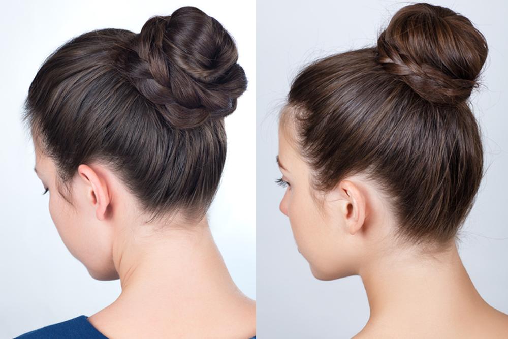 Como fazer coques no cabelo