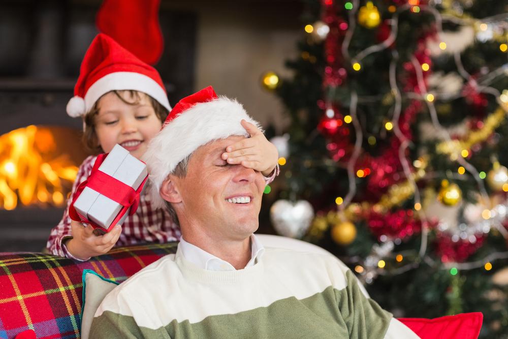 Presentes de Natal para os pais