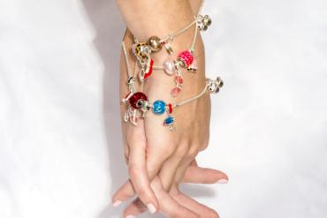Berloques de prata amuletos