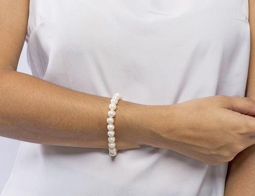 Ilustrar pulseira de pérola